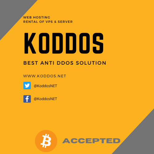 Koddos : best anti ddos solution